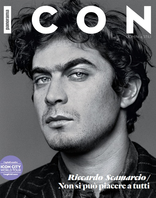 Riccardo Scamarcio On The Cover of Panorama Magazine's ...