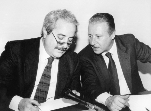 Giovanni Falcone and Paolo Borsellino