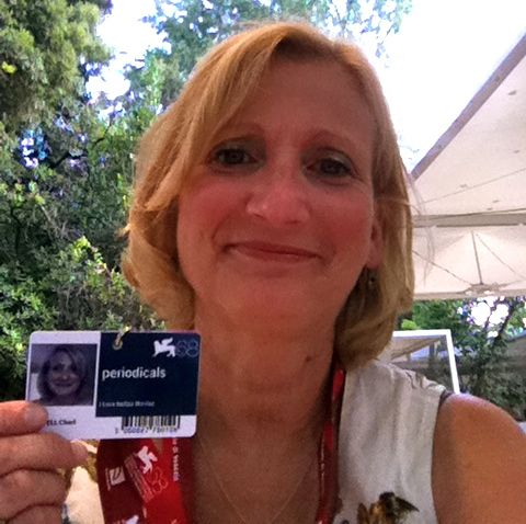 Eccomi! Look for me at the Venice Film Festival!