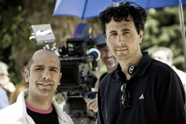 Checco Zalone and Gennaro Nunziante
