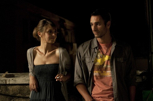 Paola Cortellesi and Raoul Bova