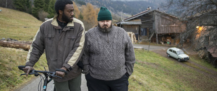 Jean-Cristphe Folly and Giuseppe Battiston in 'La Prima Neve'