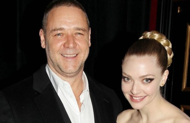 Russell Crowe and Amanda Seyfried