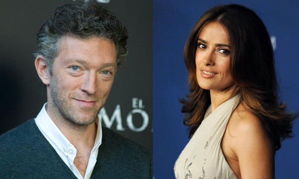 Salma Hayek and Vincent Cassel