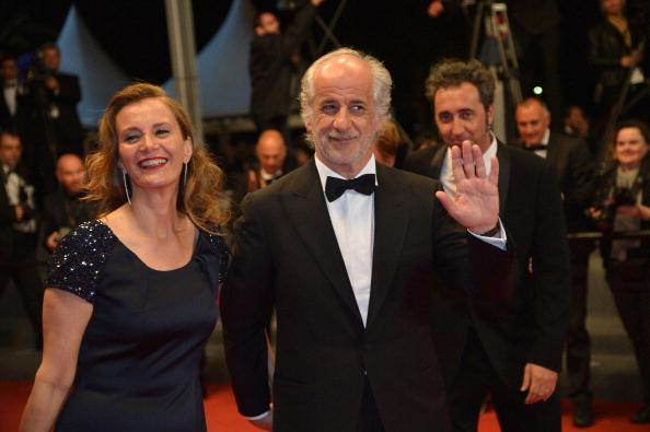 Toni Servillo and his wife Manuela.