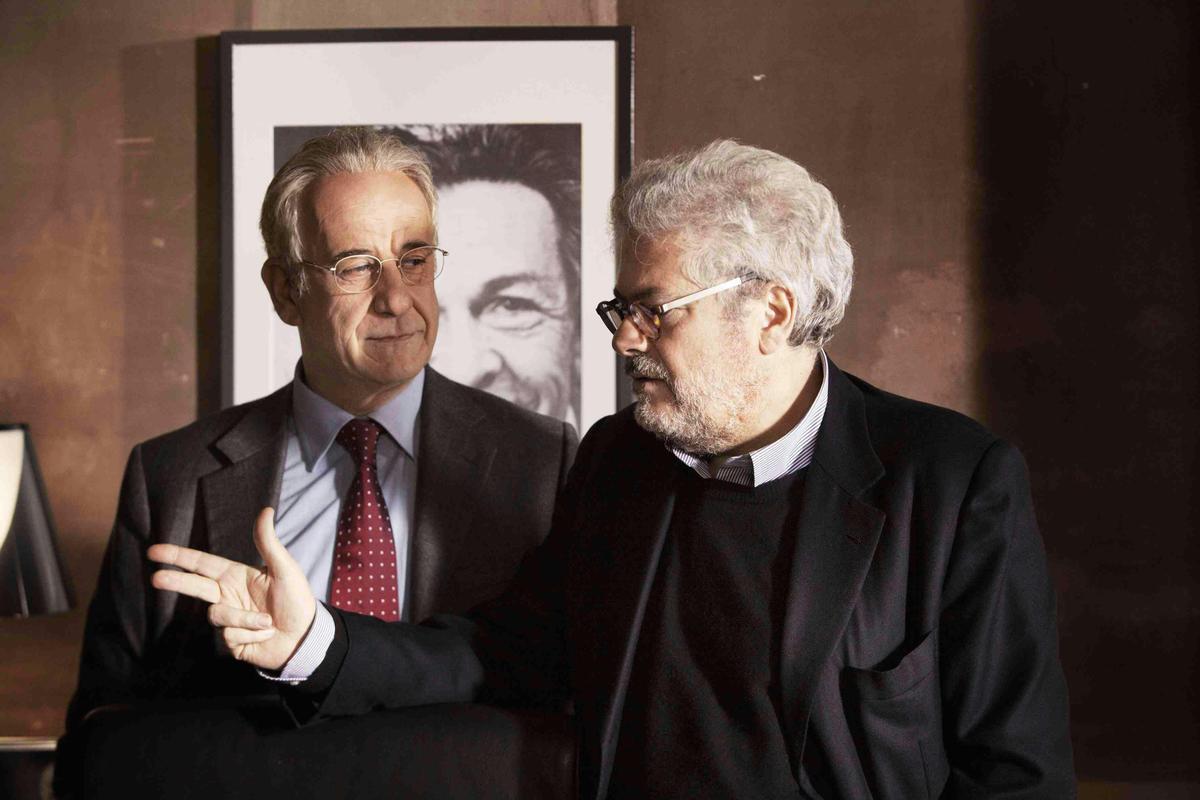 Toni Servillo and Roberto Andò