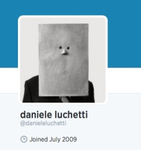 Daniele Luchetti seems a little shy on Twitter