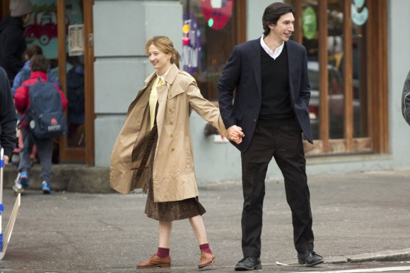 Hungry Hearts. Alba Rohrwacher and Adam Driver