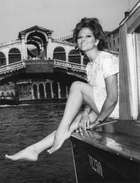 Claudia Cardinale and the Rialto