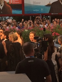 Cristiana Capotondi was at the premier of 'Hungry Hearts'