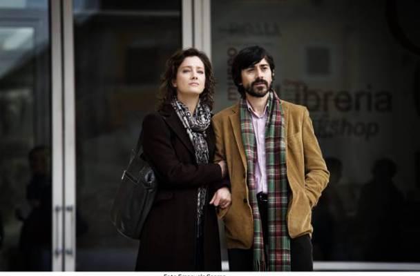 Luigi Lo Cascio and Giovanna Mezzogiorno