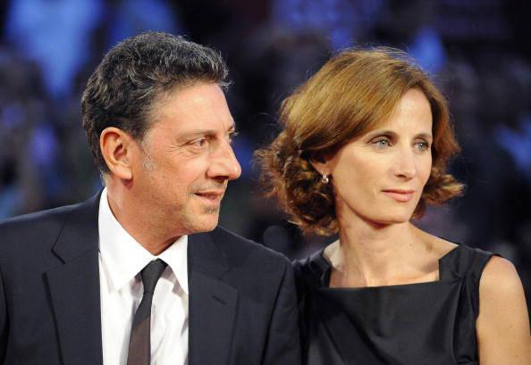 Sergio Castellitto and the missus, Margaret Mazzantini