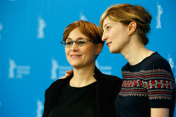 Laura Bispuri and Alba Rohrwacher