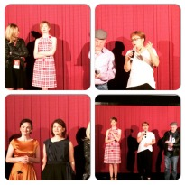 Alba Rohrwacher, Laura Bispuri, Flonja Kodheli and Ilire Vinca Celaj