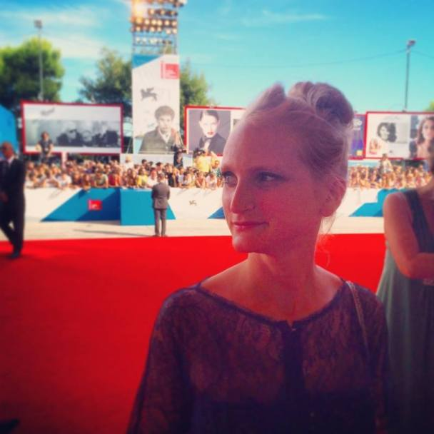 My daughter Lauren and I got a chance to tip toe down the red carpet last year.