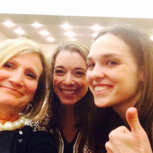 My friend Lauren Marino and I met Sara Serraiocco at Open Roads.