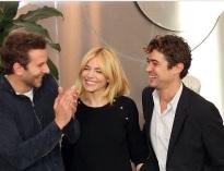 Bradley Cooper Sienna Miller and Riccardo Scamarcio