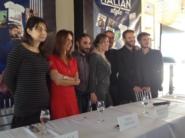 Francesca Archibugi, Maria Sole Tognazzi, Piero Messina, Valeria Bruni Tedeschi, Valerio Mastandrea, Alessandro Borghi, and Luca Marinelli