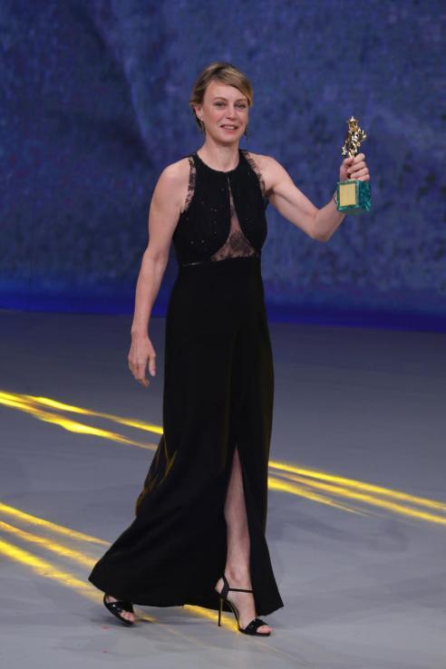 "Margherita Buy's Best Actress acceptance speech? ""Grazie."""