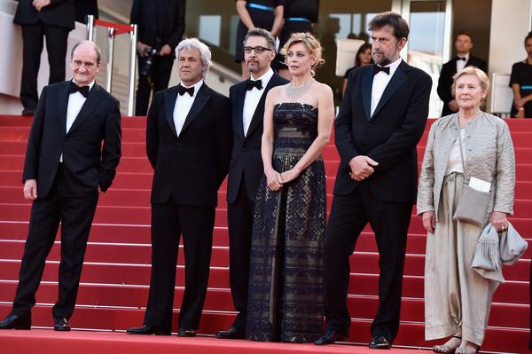 Lazzarini at the Cannes Film Festival premiere of Mia Madre.