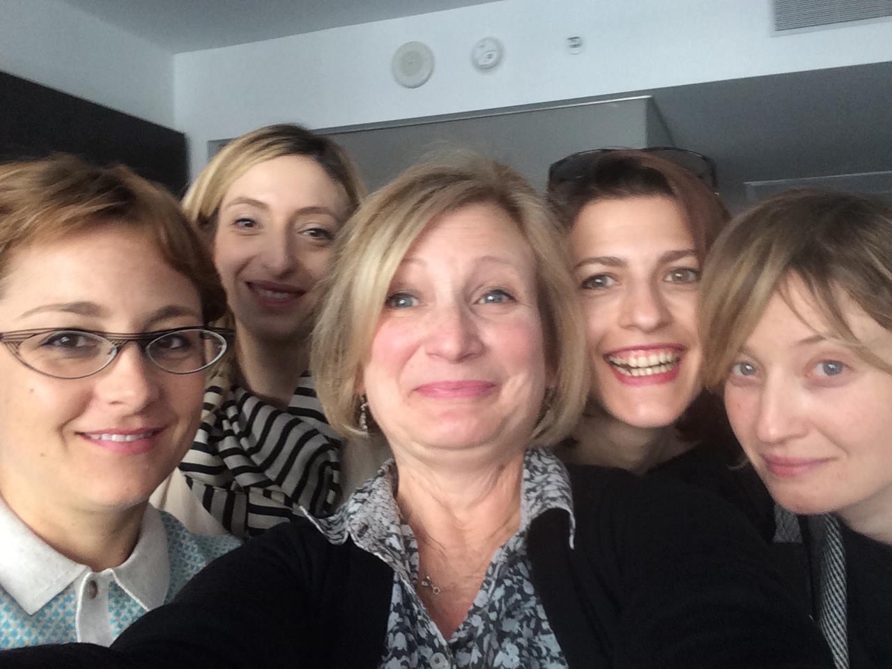 Vergine Giurata: DIrector Laura Bispuri, Producer Marta Donzelli, Actresses Flonja Kodheli and Alba Rohrwacher