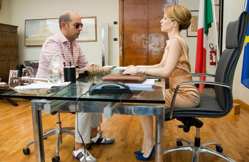 Checco with Sonia Bergamasco